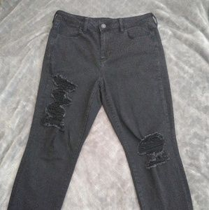 High waisted Next level stretch jegging